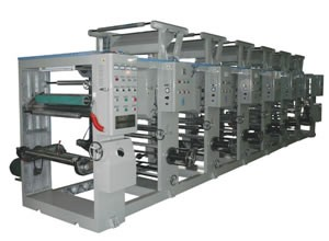 ASY600-1200B型无轴凹版印刷机